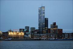 Роттердам, Голландия, Hulstkamp-gebouw и Maastoren (zzuka) Tags: rotterdam netherlands роттердам голландия