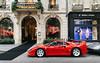 Red carpet. (misterokz) Tags: ferrari f40 supercar exotic v12 275 gtb ralph lauren paris carspotting spotting voiture car automobile misterokz photography