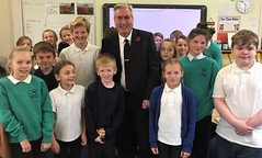 Visting Innerwick Primary School