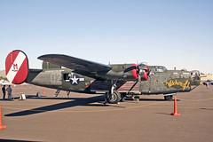 CONSOLIDATED B24J LIBERATOR NX224J COLLINGS FOUNDATION) (shanairpic) Tags: military propliner b24 b24j consolidartedb24 liberator historicaircraft scottsdale collingsfoundation nx224j
