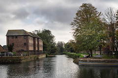 Chichester                    171014 010 (vintage 1953 & wackymoomin) Tags: chichester ship canal sussex silkypix olympus em10mkii towpath