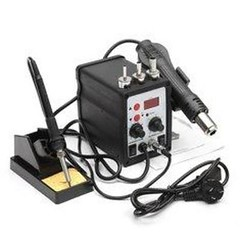 8586 2 in 1 700W ESD Soldering Station LED Digital Solder Iron Desoldering Station BGA Rework Solder Station Hot Air Gun Welder (1114873) #Banggood (SuperDeals.BG) Tags: superdeals banggood electronics 8586 2 1 700w esd soldering station led digital solder iron desoldering bga rework hot air gun welder 1114873