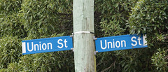 20171107_9512_7D2-200 Double Union (johnstewartnz) Tags: 7d2 7dmarkii 7d canon7dmarkii canoneos7dmkii apsc canonapsc 70200 70200mm 70200f28 sign streetsign roadsign unionstreet union canoneos eos 100canon newbrighton yabbadabbadoo yabbadabadoo unlimitedphotos