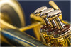 Macro Mondays – Musical Instruments (Kev Gregory (General)) Tags: macromondays memberschoicemusicalinstruments gold musical instrument brass trumpet finger buttons jupiter colour depth field bokeh kev gregory canon 7d macro mondays 100 100mm f28 usm ef challenge theme