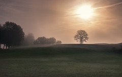 misty morning (drummerwinger) Tags: rot canon80d verlaufsfilter fog misty dunst sonne clouds landscape landschaft sigma
