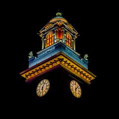 Night Moscow (Dmitry_Pimenov) Tags: architecture building buildings night colors colorful clock moscow russia russian olympus omd5 14150 dipimenov dmitrypimenov msk москва архитектура дмитрийпименов олимпус часы ночь