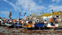 311/365 Cadgwith (Helen Orozco) Tags: 2017365 cadgwith cornwall fishingboats boats seaweed fishingport