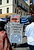 """2017, Autumn Moon Festival, Chinatown, San Francisco, """"The Chinese Communist party is Satan"""", Falun Gong, (David McSpadden) Tags: the chinese communist party is satan 2017 autumnmoonfestival chinatown falungong sanfrancisco"""