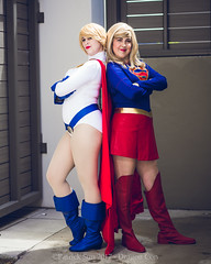 SP_66676-2 (Patcave) Tags: friday dragon con dragoncon 2017 dragoncon2017 cosplay cosplayer cosplayers costume costumers costumes shot comics comic book scifi fantasy movie film supergirl powergirl group shoot dc