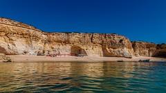 Praia da Malhada do Baraço (grzegorzmielczarek) Tags: strand beach praia algarve boattrip portugal praiadamalhadadobaraço lagoa faro pt