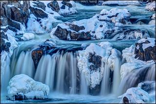 Frozen Great Falls