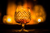 Cognac by Candlelight (Captainchaoz) Tags: porstfuji 50mm f12 xm umc extreme bokeh waterford crystal alana brandy glass