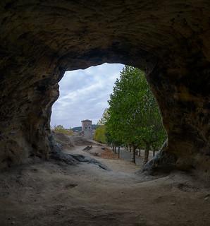Cueva junto a la ermita rupestre
