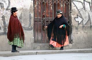 Boliviennes à La Paz