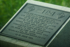Plaque Memorializing the Ax Murders by North Korea Soldiers (H.E.A.R.T. Productions) Tags: public complete pajusi gyeonggido southkorea kr