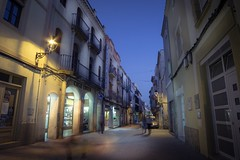 Calle de Esparreguera (jlmontes) Tags: spain españa barcelona catalonia cataluña pueblo calle atardecer esparreguera samyang14mm nikond3100