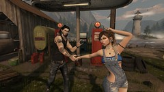 Let's go - 2 (Löηє W̶ölf) Tags: secondlife sl siblings twins couples scenic male female