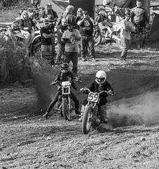 Controling The Start (John Kocijanski) Tags: blackandwhite dirtbike motorcycle canon70300mmllens race sport people groupofpeople action canon7d vehicles