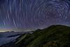 合歡山星空~雲海星軌~ Mt. Hehuan Startrails (Shang-fu Dai) Tags: 台灣 taiwan nantou 南投 合歡山 mthehuan 星軌 彩色星軌 startrails colorstartrails nikon d610 3417m 3416m 主峰 formosa nightscene starry 戶外 圖案