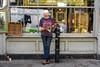 Doors & Windows (Silver Machine) Tags: streetphotography street streetportrait candid man reading reflection photographer shop antiqueshop magazine fujifilm fujifilmxt10 fujinonxf35mmf2rwr