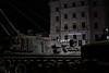 Cause for alarm (No_Mosquito) Tags: tank army military vienna city centre urban cafe landtmann bundesheer night dark cause for alarm menacing canon powershot g7xmarkii