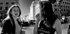 It's a wide world. (Baz 120) Tags: candid candidstreet candidportrait city candidface candidphotography contrast street streetphoto streetcandid streetphotography streetphotograph streetportrait rome roma romepeople romecandid em5 europe women mft m43 monochrome monotone mono blackandwhite bw urban life primelens portrait people unposed omd olympus italy italia girl grittystreetphotography faces decisivemoment strangers