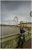 Scottish Bagpiper at Westminster Bridge - London (I'll catch up with you later, your comments and cr) Tags: scottish bagpiper londoneye county hall nikon1635mmf40 nikond610fx rertug