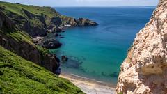 Sark (krieger_horst) Tags: kanalinseln grün blau wolken küste himmel sark