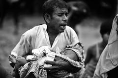 Move aside, let me go.... (N A Y E E M) Tags: father child baby candid portrait rohingya refugee street refugeecamp thaengkhali ukhia coxsbazaar bangladesh genocide ethniccleansing exodus rohingyagenocide crimesagainsthumanity saverohingya