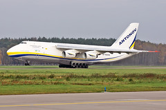 Antonov An-124-100 - UR-82029 - HAJ - 04.11.2017 (Matthias Schichta) Tags: haj eddv hannoverlangenhagen antonov airlines an124100 ur82029 cargoplane planespotting aircraft