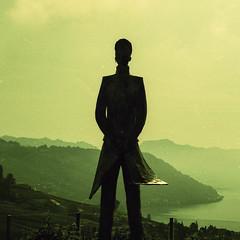Corto (LucieOnTheBridge) Tags: switzerland suisse lac colorama argentique nikon analogic
