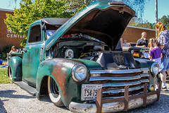 49 RAT (Shutter Photography & Hot Rod Images) Tags: 1949 chevy chevrolet truck rattruck transportation outdoor carshow antique classic rust 3100 lowered patina lexingtonva canon7d