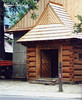Poland.  September 18th.-25th. 2001 (Cynthia of Harborough) Tags: 2001 architecture churches entrances porches trees wood