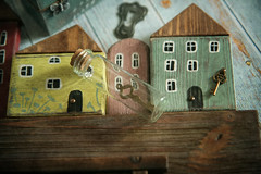 key of all doors (Button-NK) Tags: decoupage acabinetforkeys angels stilllife keys smallhouses