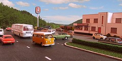Little Chef (kingsway john) Tags: 176 scale oogauge model diorama little chef lcw oxford diecast road traffic miniature