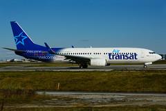 C-FYQO (Air Transat) (Steelhead 2010) Tags: airtransat boeing b737 b737800 yyz creg cfyqo