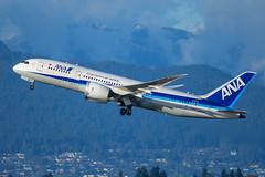 CYVR - All Nippon Airways B787-8 Dreamliner JA831A (CKwok Photography) Tags: yvr cyvr allnipponairways b787 dreamliner ja831a