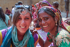 Rajasthan - Jaisalmer - Jewellry seller