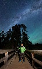 Wyoming Airglow Night