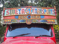 Mumbai 2015 (hunbille) Tags: india mumbai bombay birgittemumbai2lr dadar phool galli phoolgalli flower market bazaar truck