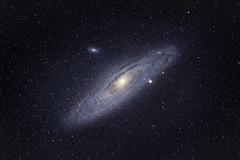 M31 (Galaxy) From Paris with a telephoto lens (Franck Zumella) Tags: ciel sky dark sombre black deep profond night nuit galagy galaxie m31 m32 m110 ngc astronomy astronomie astrophoto