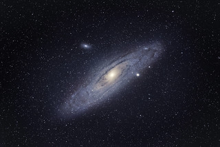 M31 (Galaxy) From Paris with a telephoto lens