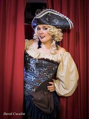 Steam Punk (David Cucalón) Tags: davidcucalon steam punk barcelona retro portrait retrato woman pirata pirate girl chica red rojo