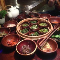 Korea - Insadong (Sanchon Restaurant)  117 (The Subcultured Traveler) Tags: iphonepics korea seoul insadong namdemeun dmz hongdae heyri sinchon travel asia backpacker subculturedtraveler