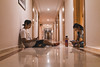 Slow WiFi (Leo Hidalgo (@yompyz)) Tags: tétouan marruecos المغرب almaġrib morocco hotel hall way
