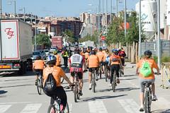 Bicicletada i dinar popular 20 anys