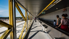 Malpensa Airport, Milan - Italy (DiSorDerINaMirrOR) Tags: airport architecture modernarchitecture travel travelling people milan malpensa mxp arrival departure milano italia italy urban city citylife streetview sony sonyalpha sonyalpha6000