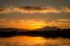 D19434E7 - Cloudy Sunset Over Mt Diablo (Bob f1.4) Tags: sunset mt diablo mountain silouhette san francisco bay area over water california ca sacramento delta taken from pleasure boat clouds fire sky orange
