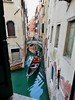 The Gondolier's commute to work (daj333) Tags: venice italy gondola canal gondolier lumix