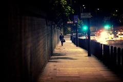 Night Lights (-- Carlosperez --) Tags: night lights london england man walk victoria